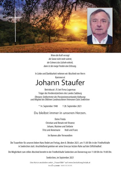 Johann Staufer