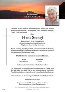 Hans Stangl