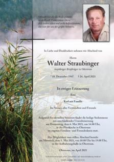 Walter Straubinger