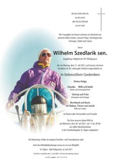 Wilhelm Szedlarik sen.