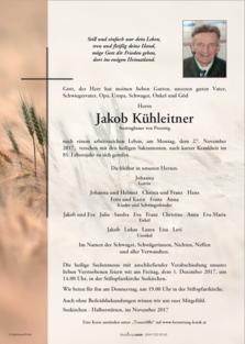 Jakob Kühleitner