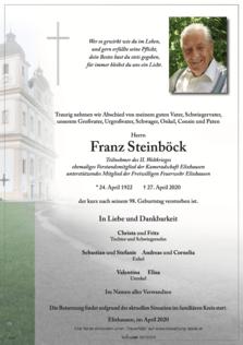 Franz Steinböck