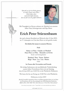 Erich Peter Stürzenbaum