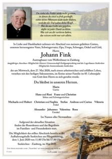 Johann Fink