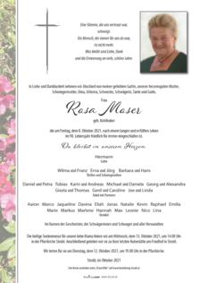 Rosa Moser