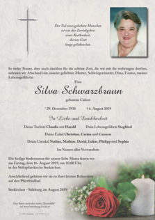 Silva Schwarzbraun