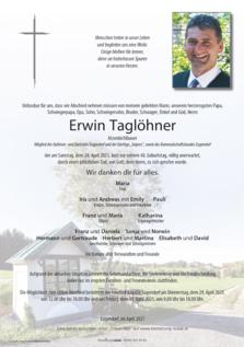 Erwin Taglöhner