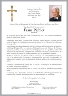 Msgr. Kan. OStR. Franz Pichler