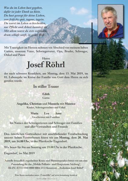 Josef Röhrl