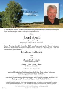 Josef Sperl