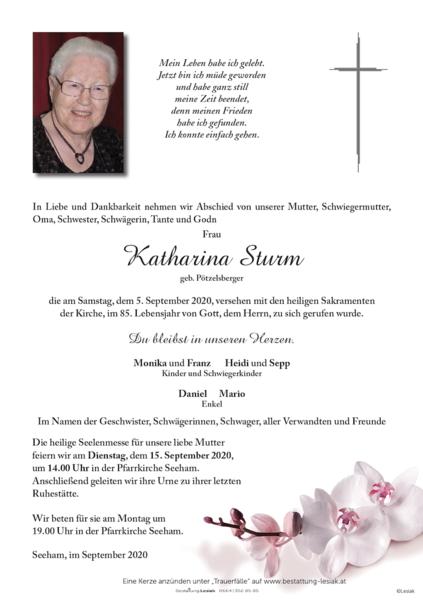 Katharina Sturm