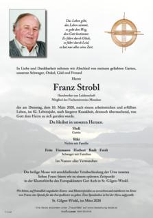 Franz Strobl