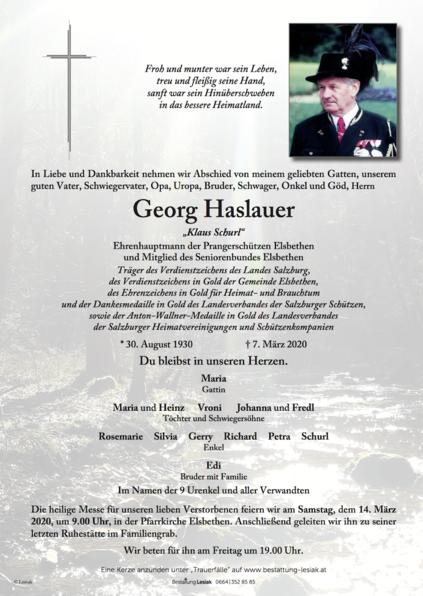 Georg Haslauer