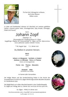 Johann Zopf
