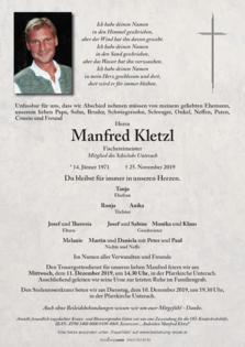 Manfred Kletzl