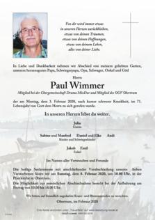 Paul Wimmer