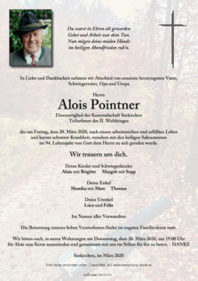 Alois Pointner