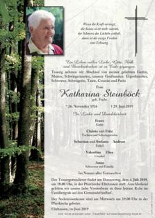 Katharina Steinböck