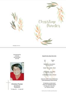 Christine Pranter