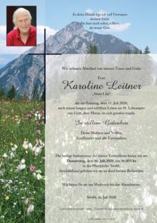 Karoline Leitner