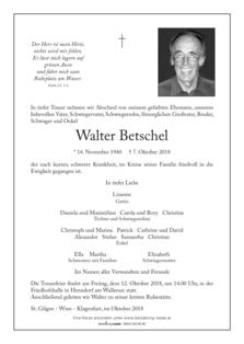 Walter Betschel