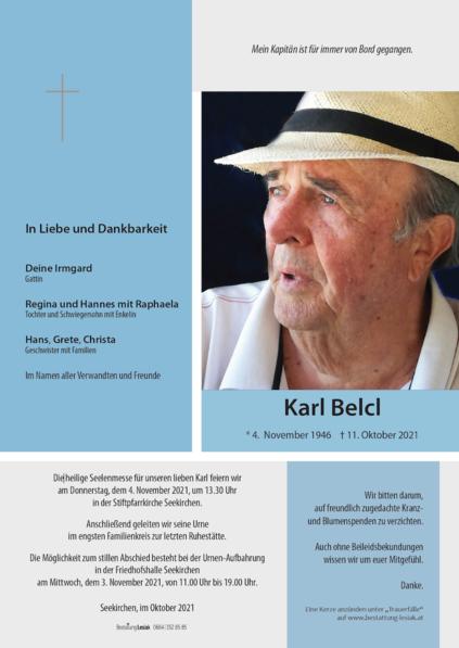 Karl Belcl