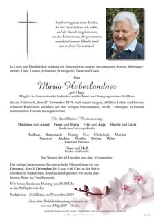 Maria Haberlandner