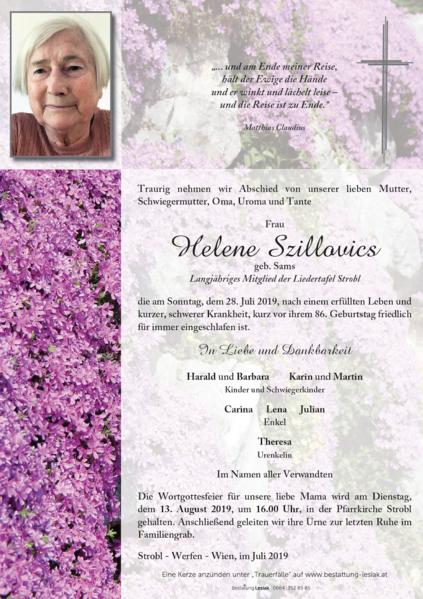 Helene Szillovics