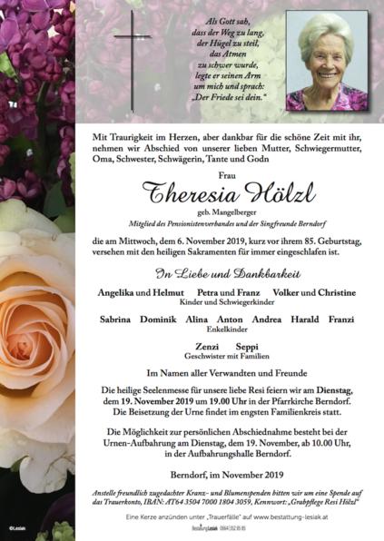 Theresia Hölzl