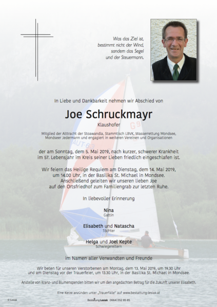 """Joe Schruckmayr """"Klaushofer"""""""