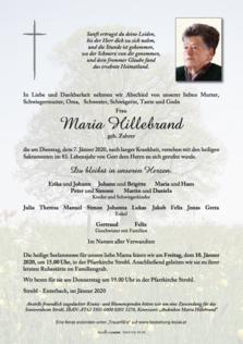 Maria Hillebrand
