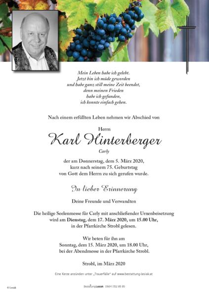 Karl Hinterberger