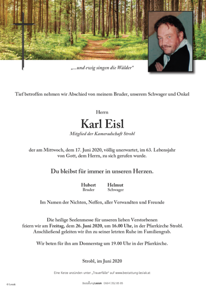 Karl Eisl