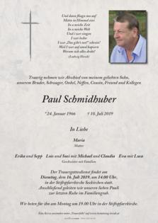 Paul Schmidhuber