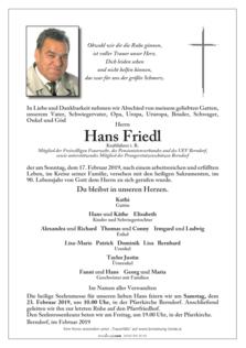 Hans Friedl