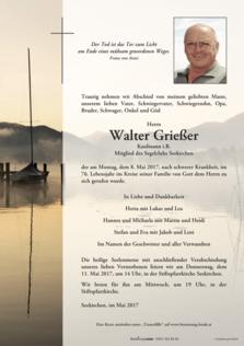 Walter Grießer