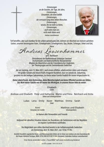 Andreas Lausenhammer