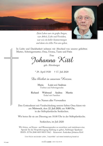 Johanna Kittl