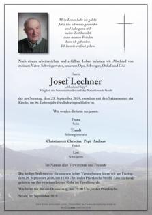 "Josef Lechner ""Mooshäusl Sepp"""