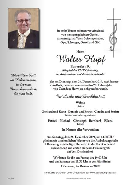 Walter Hupf