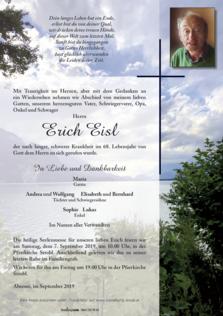 Erich Eisl