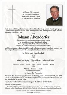 Johann Altendorfer