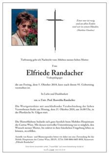 Elfriede Randacher