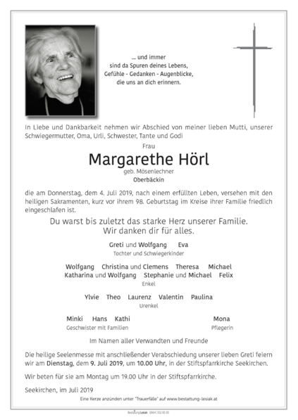Margarethe Hörl