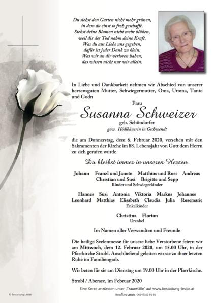 Susanna Schweizer