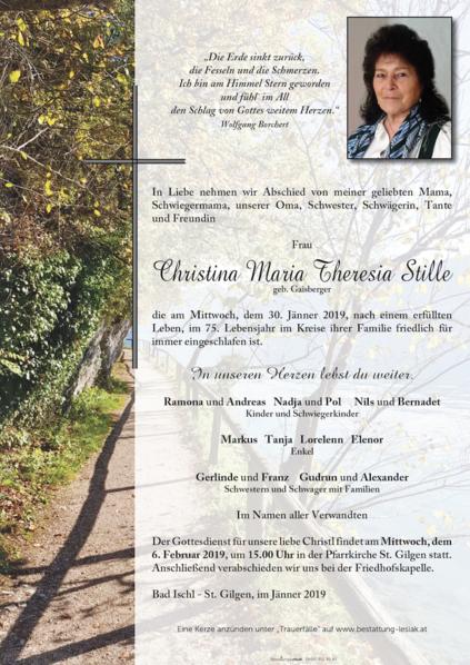 Christina Stille