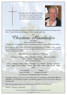 Christine Altendorfer