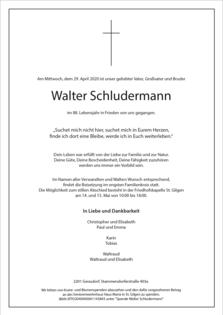 Walter Schludermann