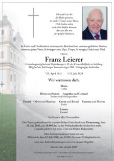 Franz Leierer