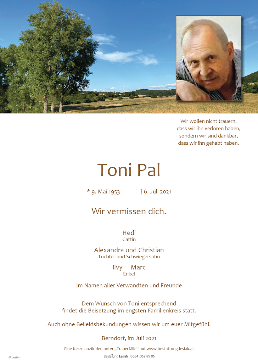 Toni Pal